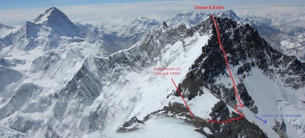 Lhotse route